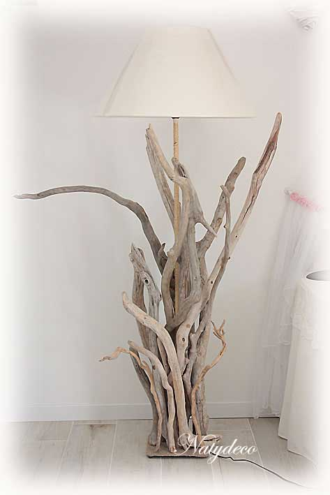 D co en bois flotte for Creation objet en bois flotte